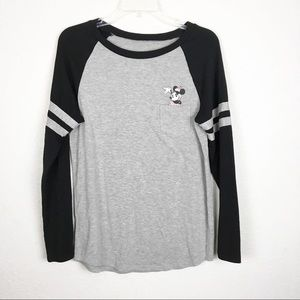 Disney Minnie Mouse Pocket Graphic Long Sleeve Tee